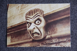 OXFORD, New College, Carvings On Bell Tower - Oxford