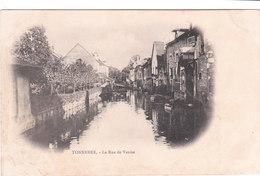 Carte Postale Ancienne De L'Yonne - Tonnerre - La Rue De Venise - Vers 1900 - Tonnerre
