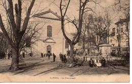 34...HERAULT...SAINT PONS   LA PROMENADE... - Saint-Pons-de-Mauchiens
