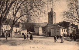 34...HERAULT...SAINT PONS   PLACE DU FOIRAIL. - Saint-Pons-de-Mauchiens