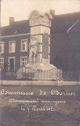 Commune De Mortier - Monument Aux Morts (photo Braham 1921) - Blégny