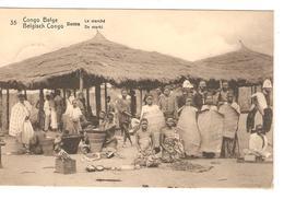 Entier CP 10c Belgisch Congo Belge N°35 C.Matadi 25/3/1913 V.Bruxelles C.d'arrivée PR4331 - Entiers Postaux