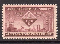 USA 1951 75th Anniversary Of American Chemical Society, MNH (SG 999) - United States