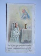 Image Religieuse Souvenir De Ma Communion Solennelle Faite En L'église De (MOTARGES ?) Camille Milles 1938 - Images Religieuses