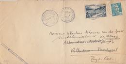 FRANCE :1952: Y.842A Sur Pli Voyagé De PARIS  Vers ROTTERDAM (Pays-Bas) Et Transféré Vers DEN HAAG. - France