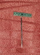 RANK XEROX, ORIGINAL VINTAGE PIN BADGE - Badges