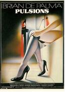 CPM Cinéma PULSIONS De Brian De PALMA Avec Michael CAINE  Ed. F. Nugeron - Affiches Sur Carte