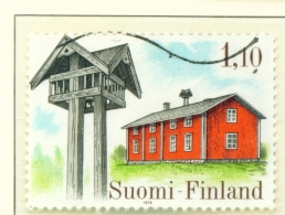 FINLAND  -  1979  Peasant Architecture  M1.10  Used As Scan - Finland