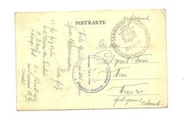 SS A-Bataillon Sennheim - Elsass - Feldpostbeleg 1942 Auf AK - Guerre 1939-45
