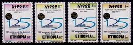 (390) Ethiopia / Ethiopie  UPU  ** / Mnh  Michel 1637-40 - Etiopía