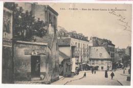 Dep  75 - Paris -  Montmartre - Rue Du Mont Cenis  - Carte Précurseur  : Achat Immédiat - Frankrijk