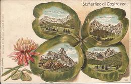 1908 - ST.MARTINO DI CASTROZZA, Gute Zustand, 2 Scan - Bolzano (Bozen)