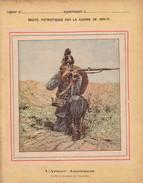 GUERRE DE 1870-1871 - PROTEGE CAHIER - RECITS PATRIOTIQUES - INFANTERIE BAVAROISE - L'ARMEE ALLEMANDE. - Book Covers