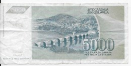 Lot 5 Billets JUGOSLAVIJA - Yugoslavia