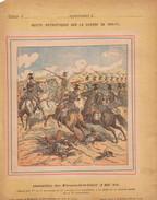 GUERRE DE 1870-1871 - PROTEGE CAHIER - RECITS PATRIOTIQUES - BATAILLE DE FROESHWILLER 6-AOUT-1870 - CHARGE DES 1er ET 3e - Protège-cahiers