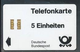GERMANY  W 1  5 Einheiten  - Leer - Allemagne