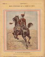 GUERRE DE 1870-1871 - PROTEGE CAHIER - RECITS PATRIOTIQUES - L'ARMEE ALLEMANDE - MAJOR DES HUSSARDS ROUGES DE ZIETHEN. - Protège-cahiers