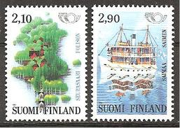 Finnland 1991 // Michel 1142/1143 ** (M) - Ferien & Tourismus