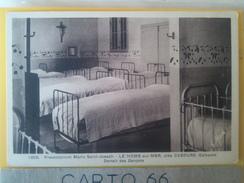 14 LE HOME SUR MER PREVENTORIUM ST JOSEPH PRES DE CABOURG DORTOIR DES GARCONS 1909 G.MAES - France