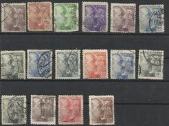 Espagne N° 677 à 690 De 1940 - 1931-Heute: 2. Rep. - ... Juan Carlos I