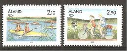 Alandinseln 1991 // Michel 51/52 ** (M) - Ferien & Tourismus