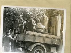 La France Sous Vichy . MALAKOFF  Les Jeunes Au Secours Des Sinistres - Lieux