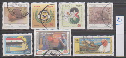 Syria,Syrie, #2014,2013,2012, 7 Stamps ,Cancelled No 2. - Syrie