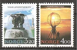 Norwegen 1991 // Michel 1068/1069 ** (M) - Ferien & Tourismus