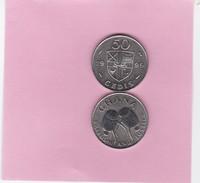 GHANA 1999, 50 CEDIS  UNCIRCULATED (D) - Ghana