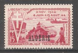 French Algeria 1954,Liberation Of France,Sc 254,VF MNH** - Algeria (1924-1962)