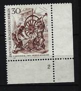 BERLIN - Mi-Nr. 335 Formnummer 2 Postfrisch - Ungebraucht