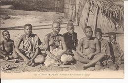 Congo Français Groupe De Tchikoumbis à Loango - Congo Français - Autres