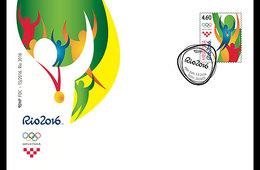 CROATIA 2016 FDC Olympic Games Rio 2016 - Verano 2016: Rio De Janeiro
