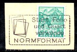 R1026 - SVIZZERA , Frammentino Con Annullo A Targhetta - Svizzera
