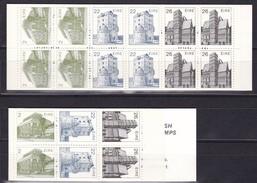 1984, Irland,485/495/497 MH 8/9, Irische Architektur, MNH **. Markenheftchen, Carnet - 1949-... Republic Of Ireland