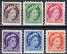 Canada N° 267 - 272 ** - Unused Stamps