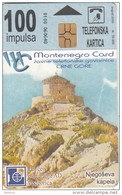 MONTENEGRO - Njegoseva Kapela, Tirage 50000, 08/00, Used - Montenegro