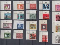 Bund Lot 20 Marken Oberer Linker Eckrand Postfrisch Lot 3 - Briefmarken