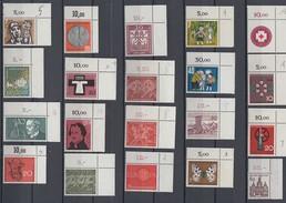 Bund Lot 20 Marken Oberer Rechter Eckrand Postfrisch Lot 4 - Lots & Kiloware (max. 999 Stück)