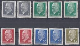 DDR Lot Rollenmarken Mit Nr. Minr.2x 845,3x 846,2x 848,2x 937,1540 Postfrisch - Briefmarken
