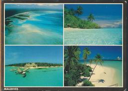 °°° GF11 - MALDIVE ISLANDS - VIEWS - 1991 With Stamps °°° - Maldive