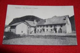 Clavieres Torino Via Nazionale E Dogana Primi 1900 - Otras Ciudades