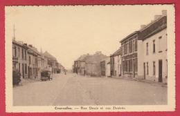 Courcelles - Rue Denis Et Ru Destrèe .... Ancien Camion ( Voir Verso ) - Courcelles