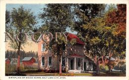 Birthplace Of Maude Adams - Salt Lake City - Salt Lake City