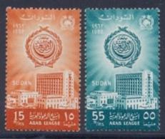 Sudan 1962 Stamps MNH Arab League Week Complete Set - Sudan (1954-...)