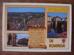 FRANCE - Aveyron - VILLEFRANCHE DE ROUERGUE - Villefranche De Rouergue