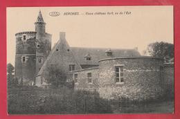 Herchies - Vieux Château Fort , Vu De L'Est( Voir Verso ) - Jurbise