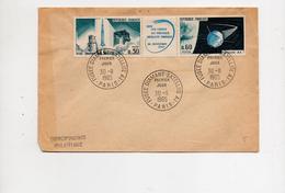 PARIS France YT 1465A  Fusée Diamant, Satellite A1 30/11/1965 - 1960-1969