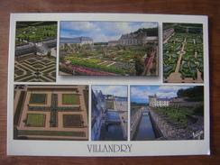FRANCE - Indre Et Loire - Lot De 2 Cartes De VILLANDRY Et Val De Loire (Saumur /Loches /Amboise /Blois /Cheverny /Azay / - Francia