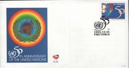 SOUTH AFRICA - FDC UNO 1995 Mi #977 - FDC